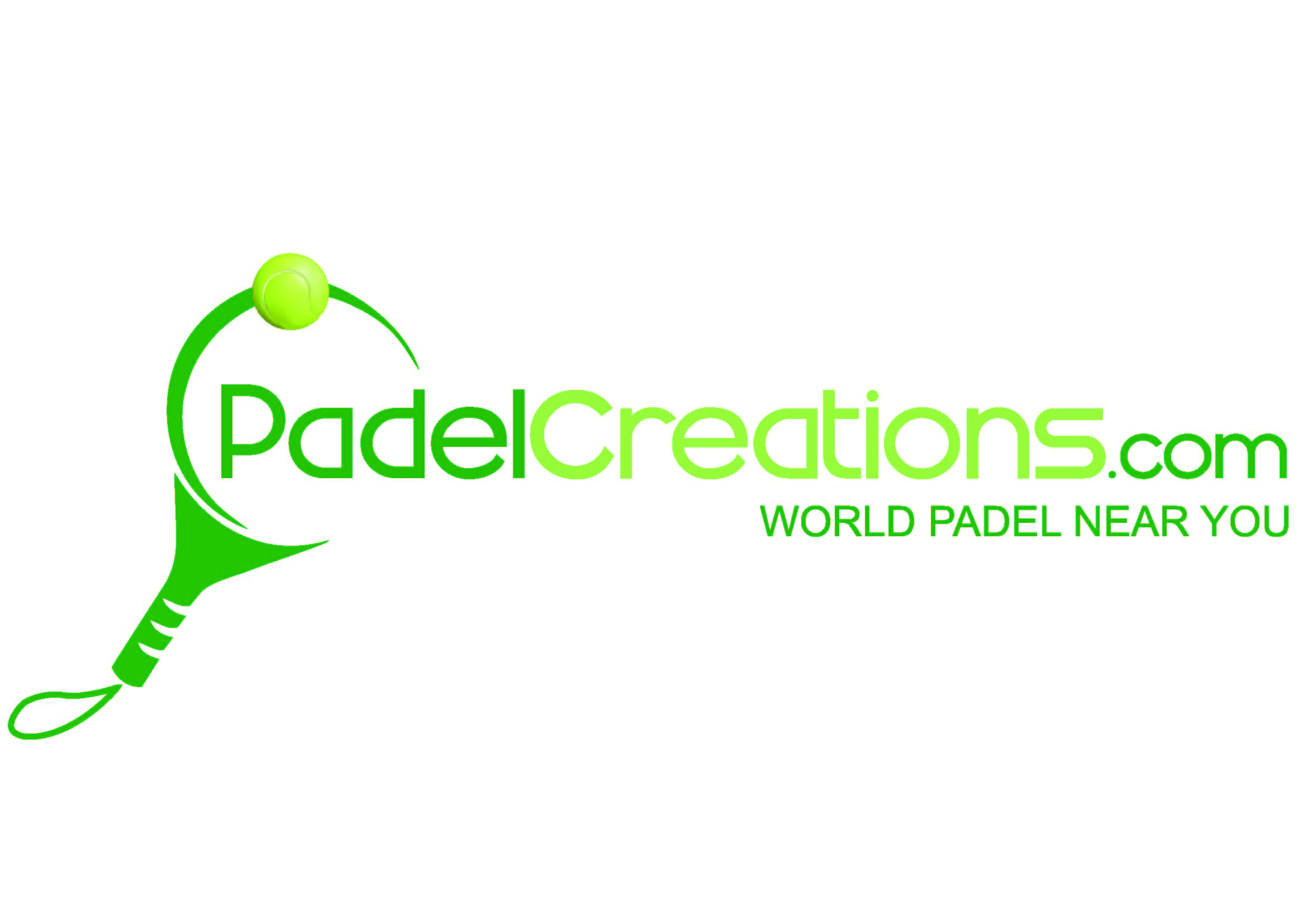 Logotipo Padelcreation Padel Courts Construction Company